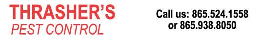 Thrasher's Pest Control Logo